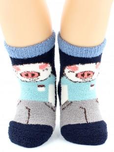 Махровые носки HOBBY LINE 3333-2