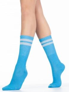 Женские хлопковые высокие носки Giulia WS4C-020