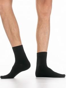 Теплые однотонные мужские носки с шерстью ангора