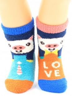 Махровые носки HOBBY LINE 3332-1