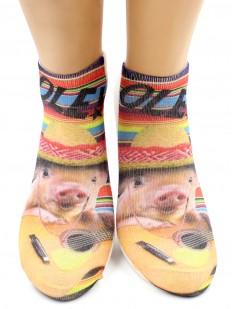 Хлопковые носки HOBBY LINE 3Д31-72