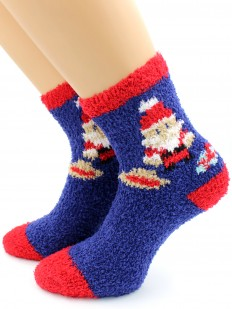 Новогодние носки HOBBY LINE 3306-1