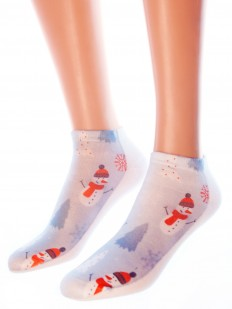 Новогодние носки Hobby Line 3Д03-2
