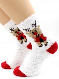 Новогодние носки Hobby Line 3304-1