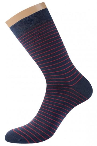 Хлопковые мужские носки в полоску Omsa for men STYLE 501