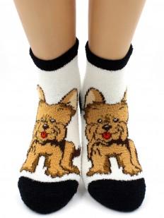 Махровые носки Hobby Line 2202-21