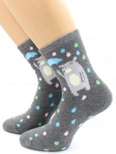 Махровые носки Hobby Line 8839