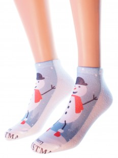 Новогодние носки Hobby Line 3Д03-1