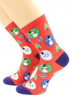 Хлопковые носки HOBBY LINE 466