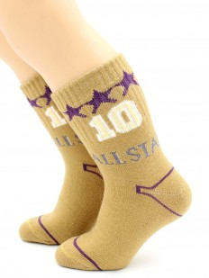 Детские хлопковые носки для мальчиков в спортивном стиле