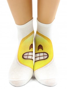 Хлопковые носки Hobby Line 520