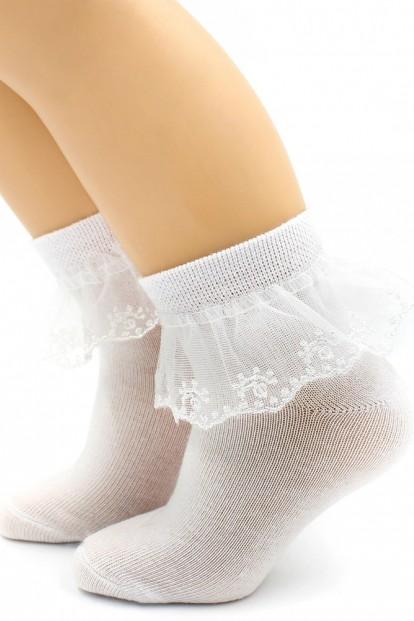 Детские носки с кружевом Hobby 844-1