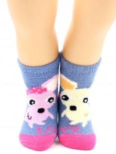 Махровые носки HOBBY LINE 3340-1