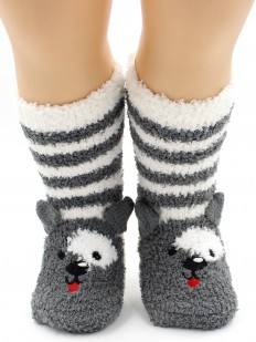 Махровые носки HOBBY LINE 3318-1