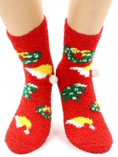 Махровые носки HOBBY LINE 068-5