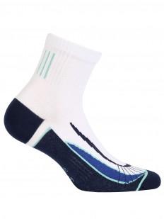 Хлопковые мужские носки с геометрическим рисунком