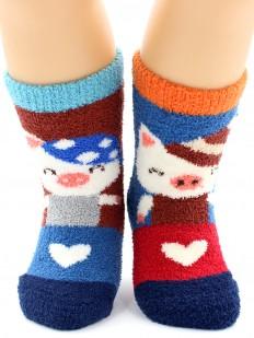Махровые носки HOBBY LINE 3332-3