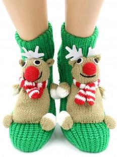 Вязаные носки HOBBY LINE 076