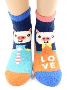 Махровые носки Hobby Line 2202-34