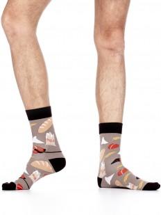 Цветные мужские носки в подарок пекарю и кондитеру