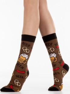 Подарочные носки унисекс с пивным принтом в стиле Oktoberfest