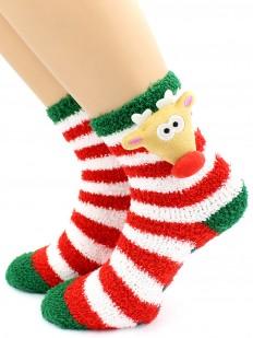 Новогодние носки HOBBY LINE 3307