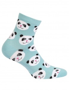 Прикольные женские носки с пандой хлопковые