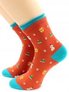 Хлопковые носки HOBBY LINE 473