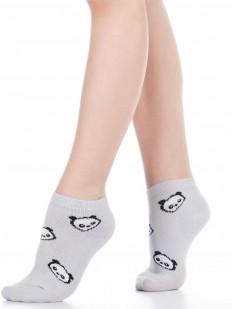Детские хлопковые носки с принтом панда (2 пары к комплекте)