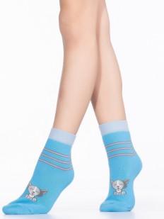 Детские хлопковые носки с собачкой