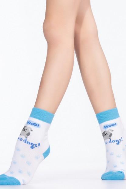 Детские хлопковые носки с собачкой Giulia KSL-006 - фото 1