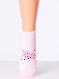 Детские носки из хлопка с принтом дольки арбуза