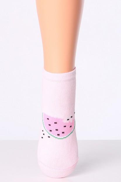 Хлопковые детские носки с принтом арбуз (2 пары в комплекте) Giulia Kss-008 - фото 1