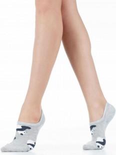 Короткие женские носки из хлопка с пандами