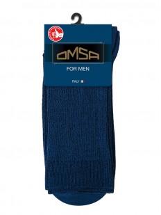 Мужские цветные носки из хлопка в рубчик с комфортной посадкой