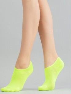 Короткие женские носки с плетением в шашечку