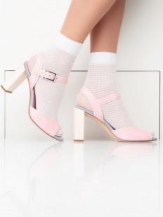 Ажурные женские носки в сеточку 40 ден