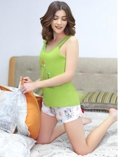 Пижама с шортами Leinle Mademoiselle 572