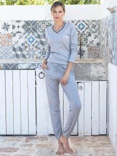 Пижама с брюками JADEA 3064 lungo
