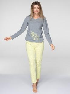 Хлопковая пижама KEY LNS 057