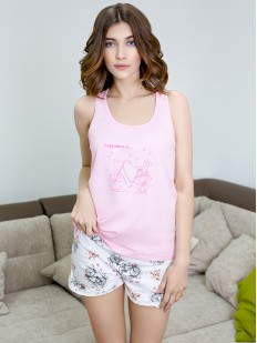 Пижама с шортами Leinle Mademoiselle 579
