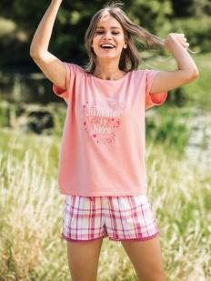 Пижама с шортами Key Lns 498