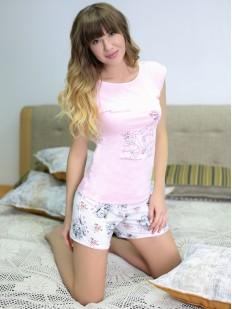 Пижама с шортами Leinle Mademoiselle 596