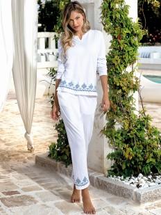 Пижама с брюками JADEA 3067 lungo