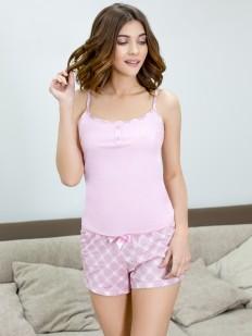 Пижама с шортами Leinle Mademoiselle 597