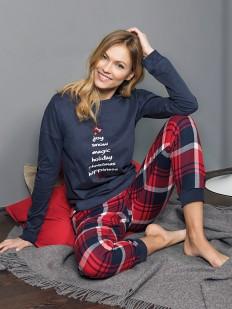Хлопковая пижама JADEA 5097
