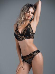Комплект белья JADEA 4839 Bralette + Brasiliano