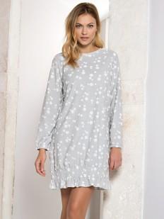 Женская хлопковая ночная сорочка с длинным рукавом JADEA maximaglia