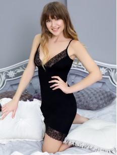 Ночная сорочка Leinle Lady black 612