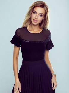 Женская элегантная футболка с широким рукавом флаттер